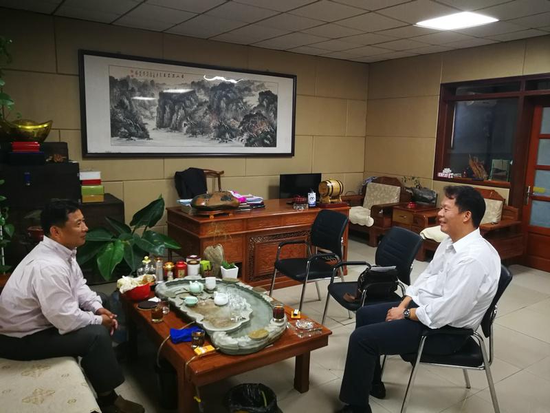 金隅琉水环保科技有限公司到访分会探讨飞灰协同处置技术及对外合作