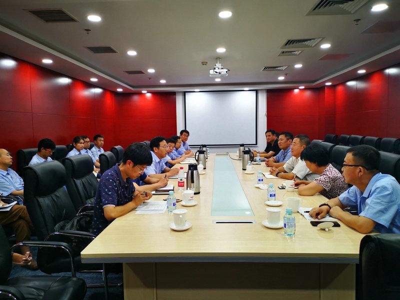 分会与金隅冀东开展氮氧化物超低排放技术合作