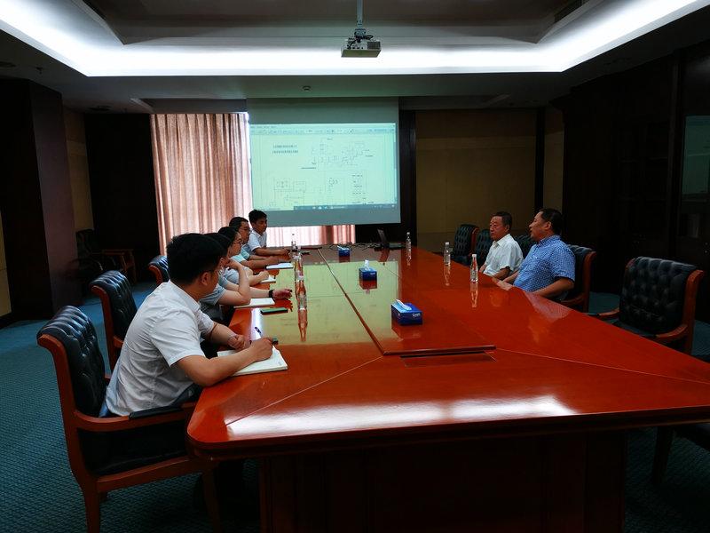 分会到安徽海中环保有限责任公司开展飞灰协同处置技术交流