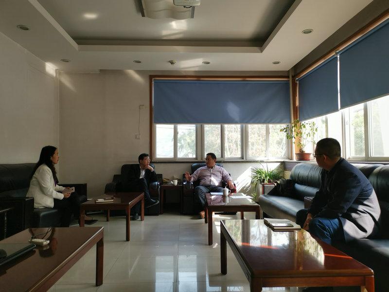 分会到河北省建筑材料工业设计研究院开展合作交流