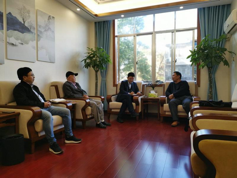 分会到湖南省建筑材料研究设计院有限公司开展合作交流